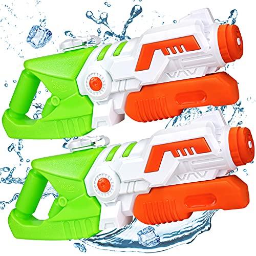 TICZLOE Water Guns, High Capacity Water Guns for Kids Super Water Soaker Blaster, Squirt Guns for...