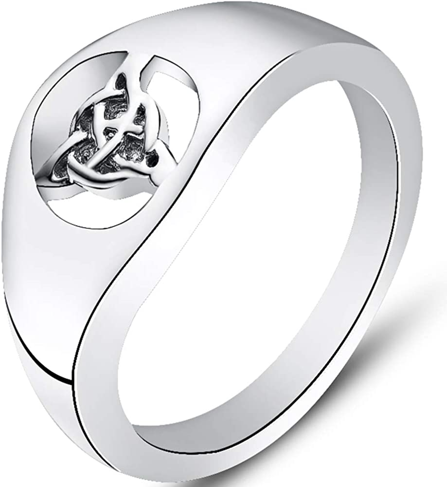 Jude Jewelers Stainless Steel Celtic Knot Wedding Band Statement Promise Ring