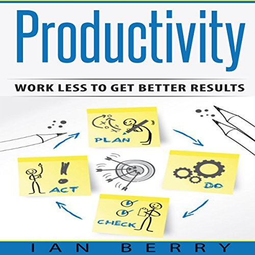 Productivity: Work Less to Get Better Results Audiobook By Ian Berry cover art