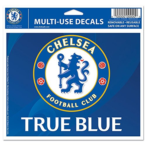 WinCraft Soccer Chelsea FC 25898014 Multi-Use Colored Decal, 5' x 6'