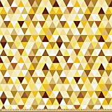 ABAKUHAUS Abstrakt Stoff als Meterware, Dreieck Rhombus