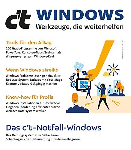 c't Windows: Werkzeuge, die weiterhelfen