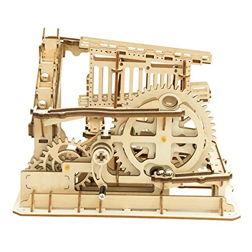 Robotime Mechanisches 3D Puzzle Spiel | Woodcraft Construction Moving Kit | Adult Craft Set (Untersetzer)