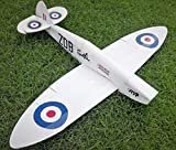 Vortex-RC FT-Spitfire Laser Cut Foam Board DIY Speed Build Radio Control Plane Kit