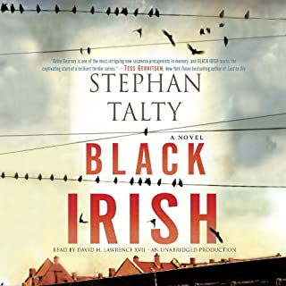 Black Irish audiobook cover art
