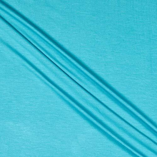 Telio Stretch Bamboo Rayon Jersey Knit Light Aqua, Fabric by the Yard