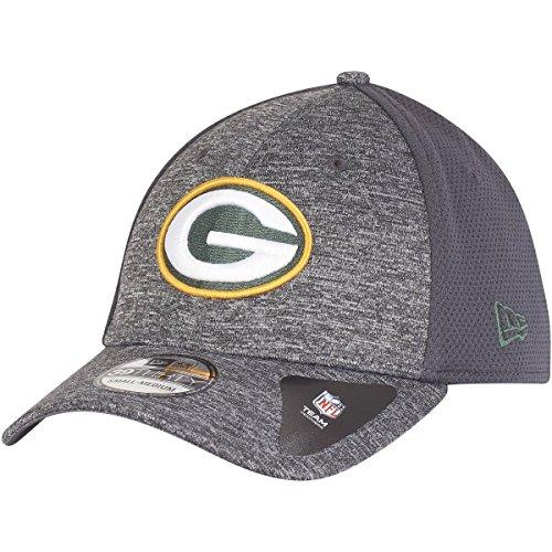 New Era 39Thirty Cap - Shadow Green Bay Packers Graphite