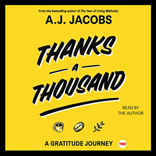 Thanks a Thousand audiobook cover art