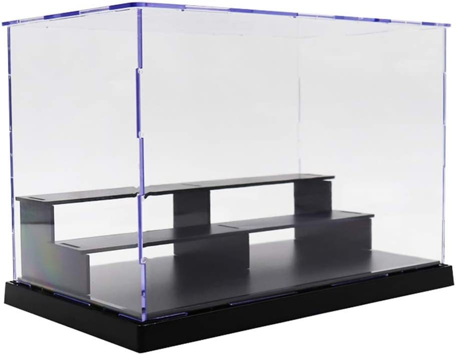 Acrylic Transparent Display Box Dustproof for Blocks Toys Action Figure Doll
