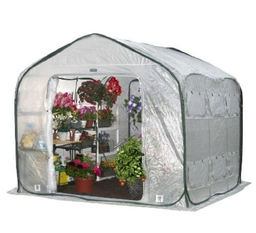 Flower House FHFH700 FarmHouse Walk-In Greenhouse