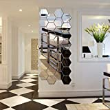 NNAA Wall Stickers, Removable Acrylic Mirror...