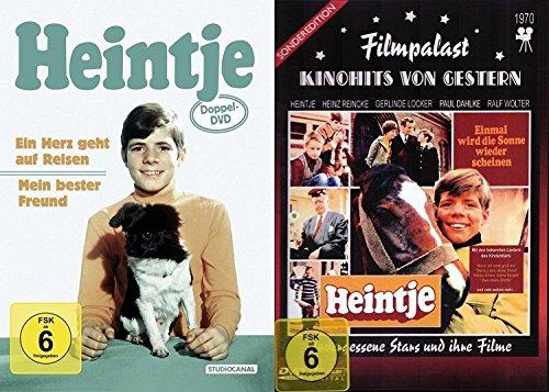 Heintje - Klassiker Collection - Ein Herz geht auf Reisen + Mein bester Freund + Einmal wird die Sonne wieder scheinen 3 DVD - Limited Edition