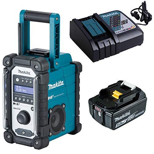 Makita Akku-Baustellenradio DMR110 7.2 V - 18 V 1x 5,0 Ah Akku + Lader im Karton