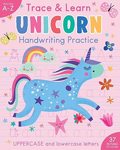 Trace & Learn Handwriting Practice: Unicorn (iSeek)