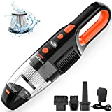 Portable Handheld Vacuum Cordless, ZesGood 7000PA Powerful Suction Rechargeable Hand Held Vacuum Cordless Cleaner with...