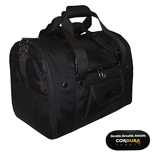 Celltei Backpack-o-Pet - Cordura(R) Black - Medium Size