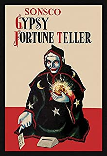 Buyenlarge 'Gypsy Fortune Teller Bank' Paper Poster, 20 by 30-Inch