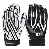 WILSON The Clutch Skill American Football Receiver Handschuhe - weiß Gr. S