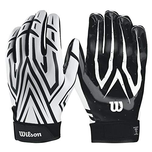 WILSON The Clutch Skill American Football Receiver Handschuhe - weiß Gr. S