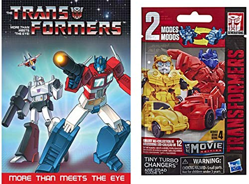 Turbo Charging More Than Meets The Eye: Transformers More Than Meets The Eye DVD & Transformers Tiny Turbo Changers Movie Edition Blind Bag Figure DVD 2 Item Set