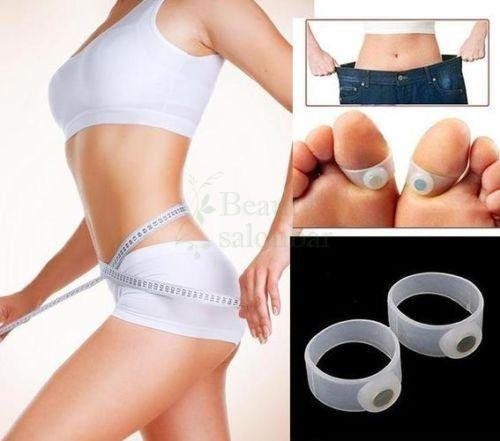 Generic 10 Pair Magnetic Toe Ring Slimming Weight Loss Health Foot Massage Rings New