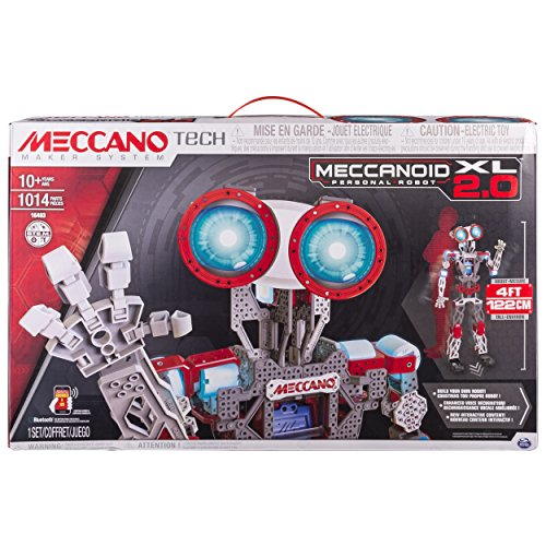 Erector by Meccano Meccanoid XL 2.0 Robot-Building...