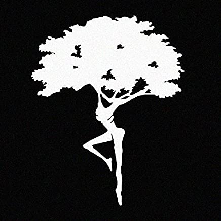 """LA DECAL Dave Matthews Band Dreaming Tree/Fire Dancer Decal 6"""" White"""