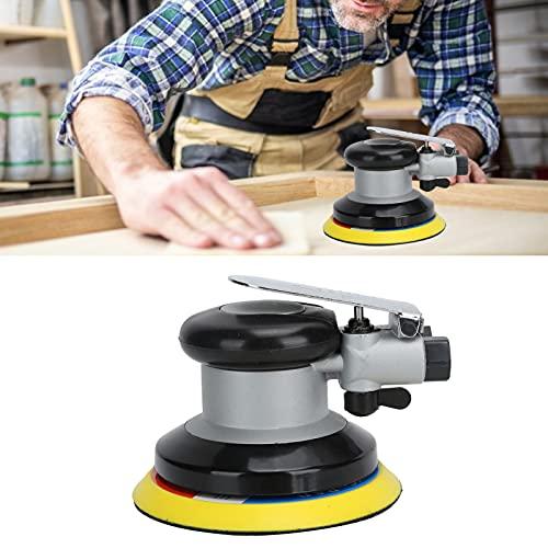 Amoladora neumática, regulador de velocidad libre incorporado Lijadora orbital Operación que ahorra trabajo Excelente comodidad con mango de goma para el hogar