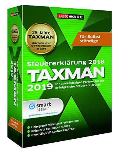 TAXMAN 2019 für Selbstständige|Basis|1 Gerät|1 Jahr|PC|Download|Download