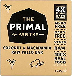 The Primal Pantry Coconut & Macadamia Multipack - 4 x 30g (0.26lbs)