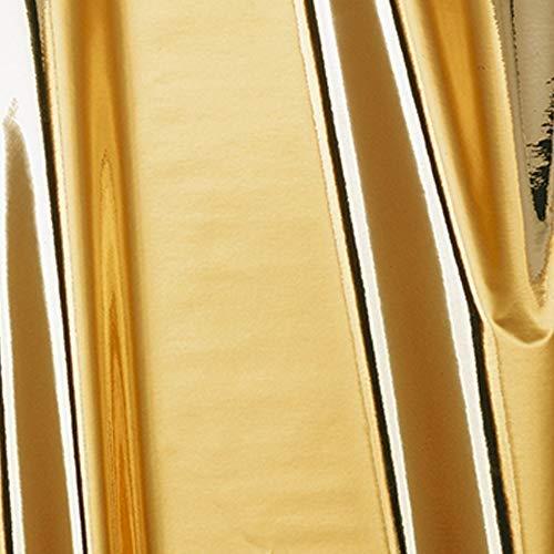 10,2€/m² Möbelfolie d-c-fix Chrom Metallic Hochglanz gold Folie 45cm Breite Laufmeterware Plotter-folie Glanz