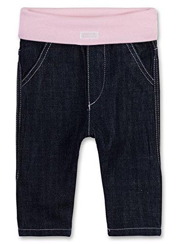 Sanetta Baby-Mädchen 906353 Jeans, Blau (Dark Blue 9482), 62