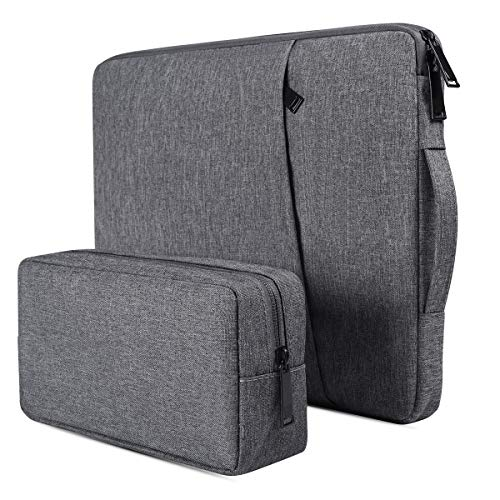 13-13.3 Inch Laptop Case Bag Compatible with MacBook Pro/Air,Acer Chromebook R13, Dell Inspiron 13.3/Dell XPS 13, HP Envy X360 13.3/HP Spectre X360 13.3, Lenovo, ASUS ZenBook 13, 13 inch Laptop Sleeve