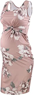 Liu & Qu Women's Maternity Casual Sleeveless Tank Dress...