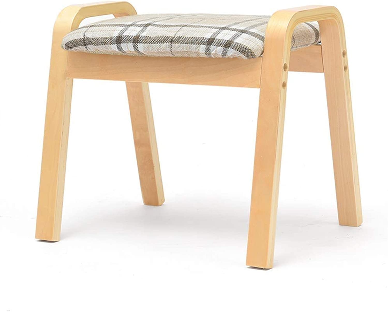European Chair Change shoes Bench, Simple Modern dustproof Storage Stool Bed end Stool Multifunctional Home Creativity (color   B)