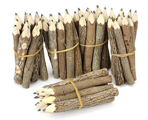 Farang Pacchetto di matite di legno tailandese Piccolo Nero