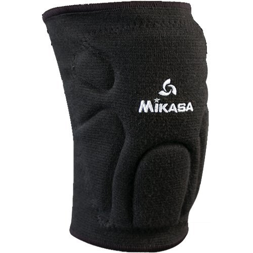 Mikasa Black Youth Competition Volleyball Knee Pads High End Moisture Management