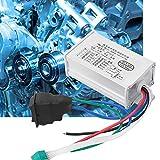 Changor Controlador de Motor, con linealidad de Aluminio y componentes electrónicos bajo Carga hacia adelante/reversa/Detener la modulación de Ancho de Pulso
