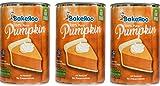 (Pack of 3) Bakeroo Tinned Pumpkin Puree (Pumpkin Pie Filling - Kürbiskuchen), 100% Natural - 425g
