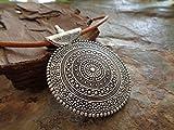 Zoom IMG-2 amulet mandala grande naturale colletto
