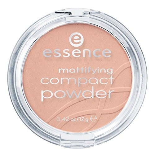 essence - Puder - mattifying compact powder - 01 natural beige