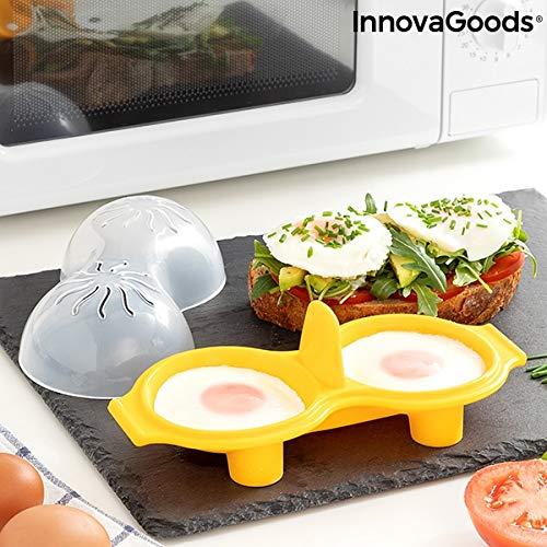 InnovaGoods IG815769 Eierkocher aus Silikon
