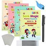 Quaderno Per Calligrafia Riutilizzabile, 4 Pezzi Quaderno Per calligrafia Per Bambin Calli...