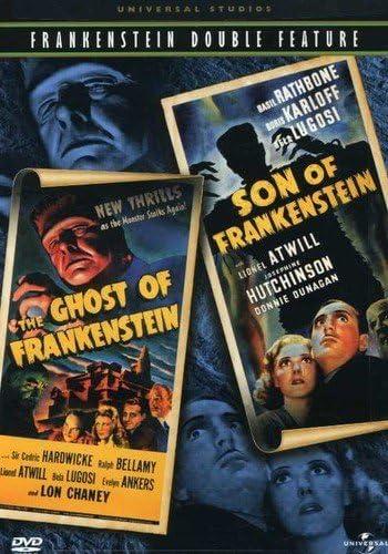The Ghost of Frankenstein Son of Frankenstein Universal Studios Frankenstein Double Feature product image