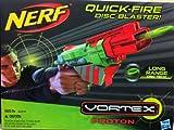 Nerf Quick-fire Disc Blaster Vortex Proton Long Range Snap Shot