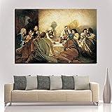 5D-DIY- Pintura de diamanteb Pintura jesús última cena imagen pintura decorativa Niños de pintura de...