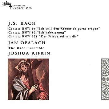 Bach, J.S.: Cantatas Nos. 56, 82 & 158