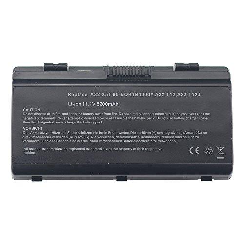 BTMKS A32-T12 A32-X51 Notebook Laptop Akku für ASUS X51 X51C X51H X51L X51R X51RL X58 X58C X58L T12 T12C T12ER T12FG T12JG T12MG T12UG T12RG 70-NLF1B2000Z 70-NLF1B2000Y Batterie