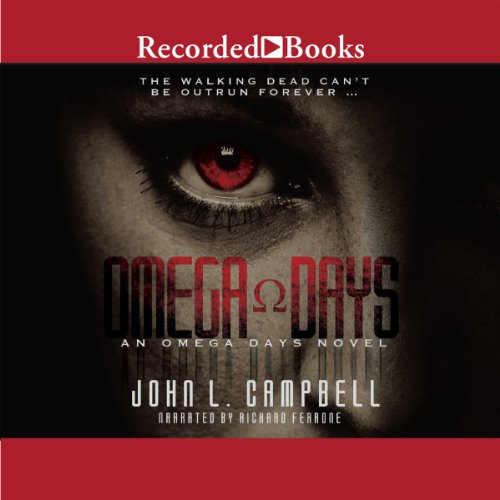 Omega Days audiobook cover art