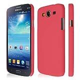 EMPIRE KLIX Slim-Fit Hard Case for Samsung Galaxy Mega 5.8 I9152 / I9150 - Soft Touch Rose Hot Pink